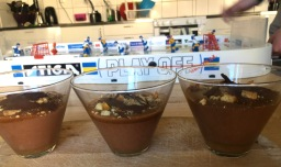 A winner – chocolate mousse