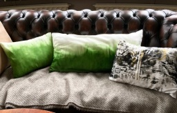 Painted pillows – recycle